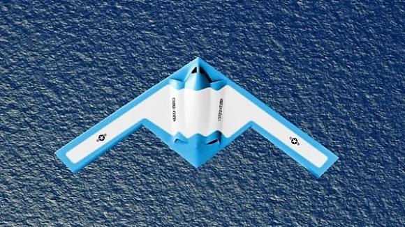 等同于平直翼的飞翼布局飞机上,这一系列困难使得气动焦点本来就非常