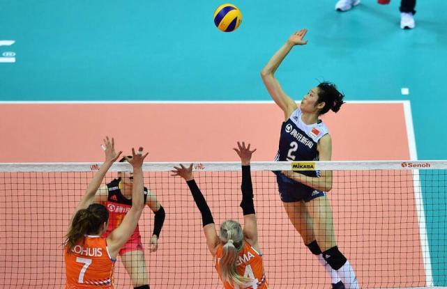 朱婷4局36分创纪录!中国女排3-1荷兰夺总决赛开门红