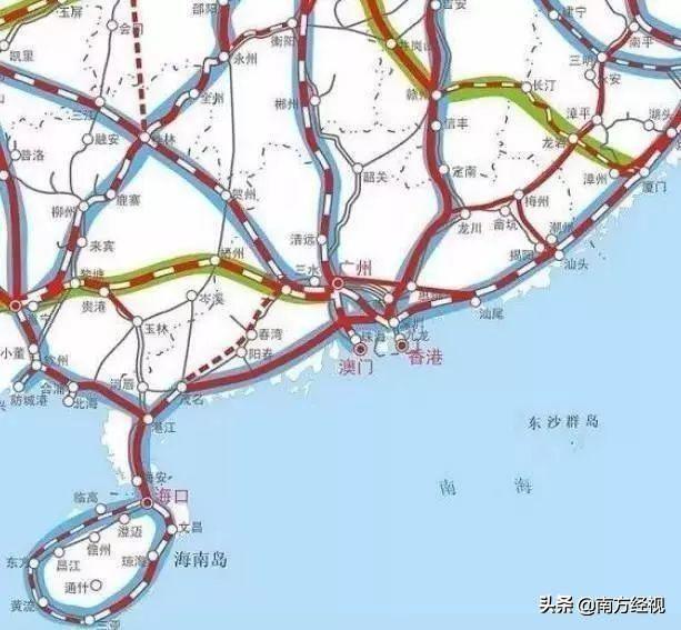2030年的高铁规划都出炉了! 你get到了吗?