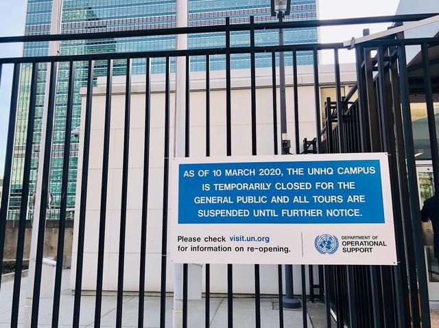 联合国秘书长发言:联合国189人感染新冠肺炎,3人去世