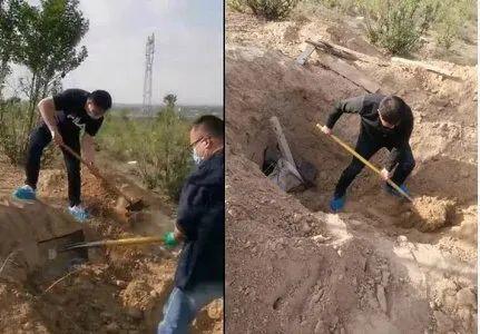 突破人伦底线!陕西男子活埋79岁母亲 获刑12年