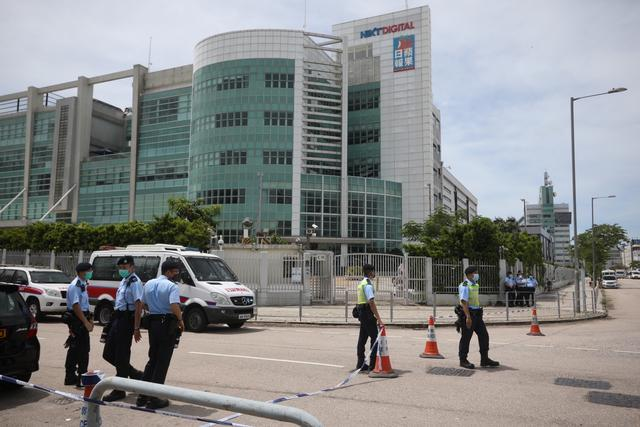 《【星图注册平台】涉嫌违反香港国安法,香港《苹果日报》总编辑罗伟光等被捕》