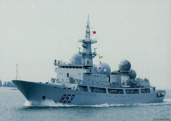"""美澳9国""""护身军刀""""军演,中国""""天王星号""""侦察船去了"""