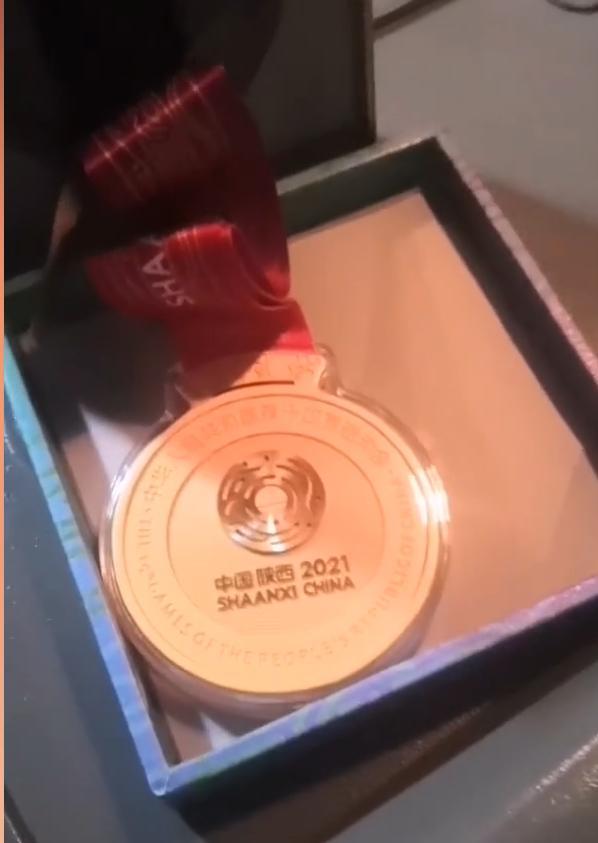 《【星图平台网站】司机捡到全运会金牌误以为是月饼 这可太应景了》