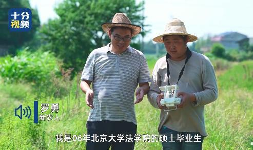 一品2品尚平台注册北大法学硕士辞掉公务员回乡种田 推出稻田托管模式