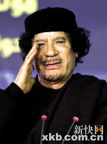 卡扎菲(1942.6.7-2011.10.20)一个独裁者的象征----句号。 - 田天沐 - 田天沐
