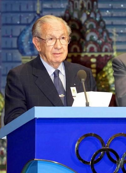 前国际奥委会主席萨马兰奇逝世 享年89岁
