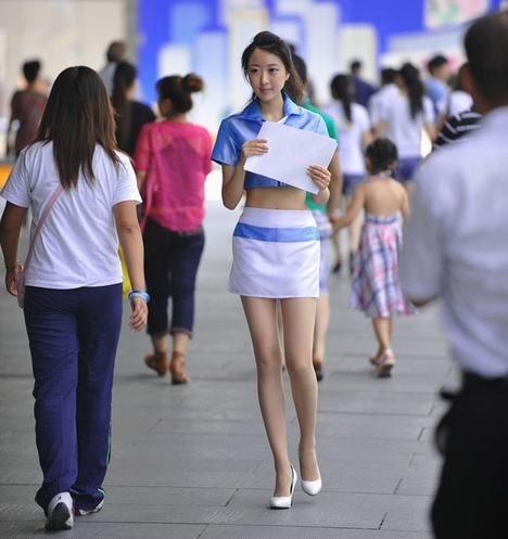 中国长腿美女