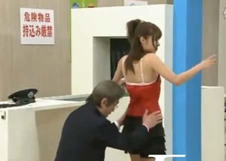 日本人如何过安检