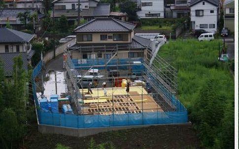 实拍日本人如何建房子