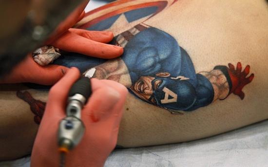 美国纹身节及纹身大会