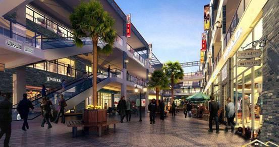沿街新中式店面设计