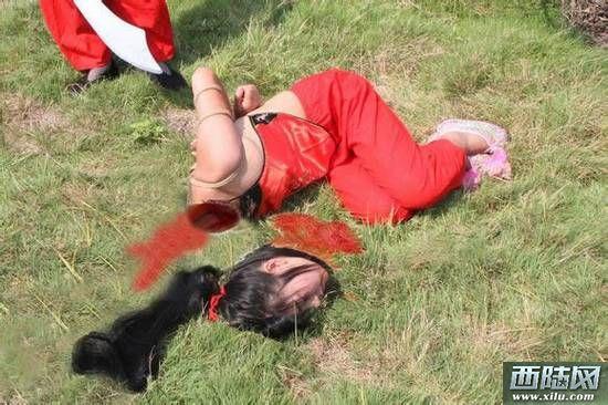 古代美女刑场处决情景曝光:绝对让女人生不如死