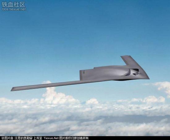 轰炸机依靠普通的飞机跑道起飞,其飞行速度在大气层内时可达2-3马赫