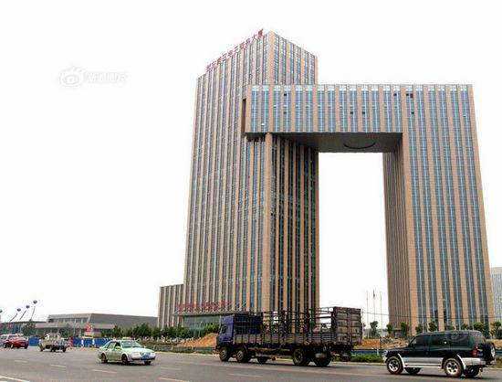 河南省郑州市这栋由同济大学建筑设计院综合设计一所