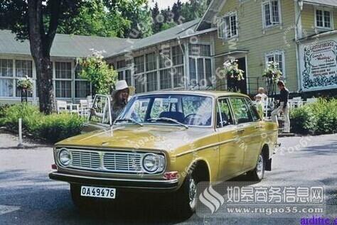 朝鲜向瑞典订购沃尔沃144型汽车1千辆