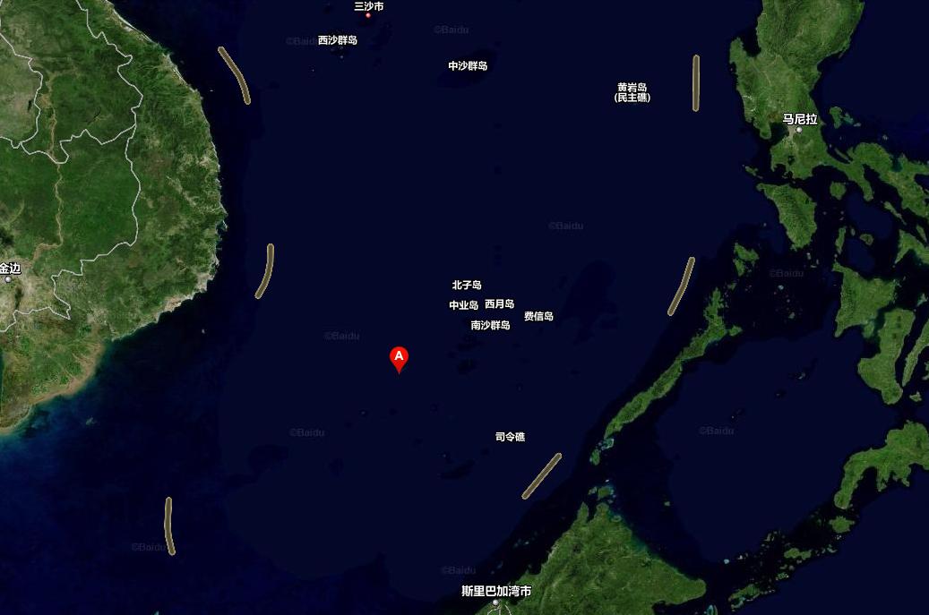 南海飞机场地理位置
