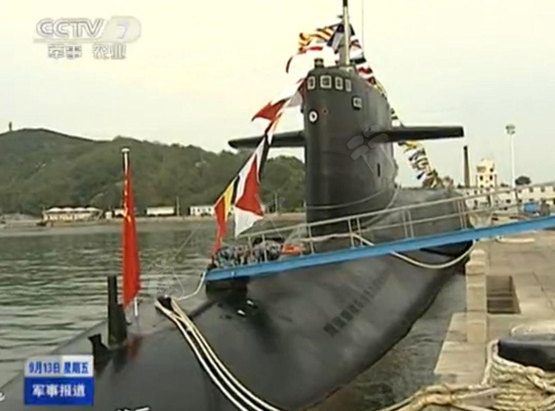 罕见照曝光 中美俄战略核潜艇内部大对比