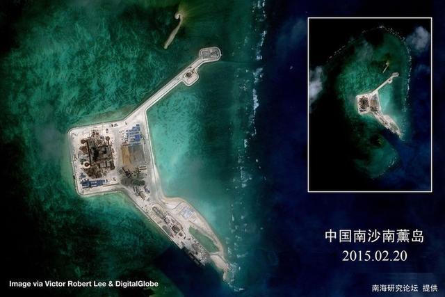 中国南海建岛新图曝光