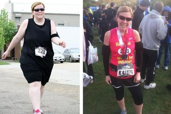 胖妞减重变身女神教练 三年跑步减90斤