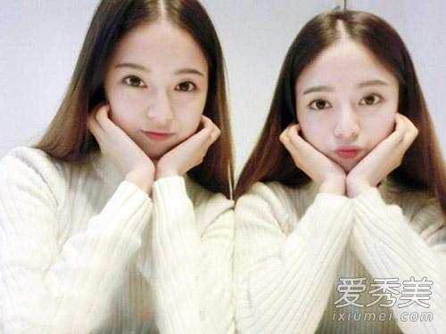 学霸双胞胎姐妹走红网络