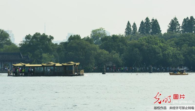 com   当日,杭州西湖风景名胜区湖滨管理处开始对全国重点文物保护