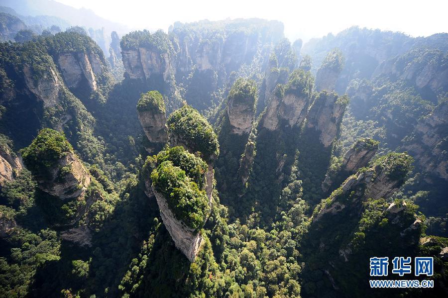 航拍世界自然遗产——武陵源风景名胜区