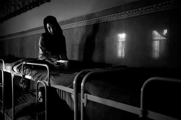 监狱里的未成年女囚 年满18岁执行死刑 组图