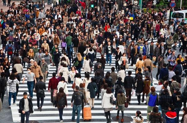 人口老龄化_东京人口