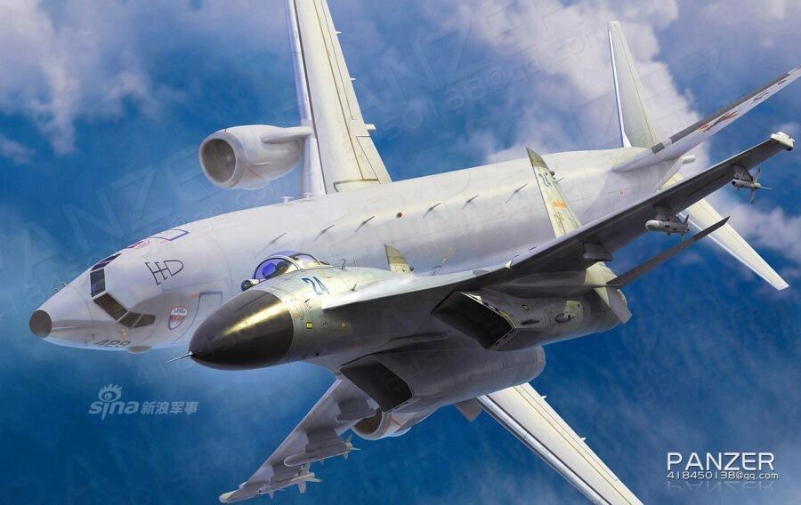 中国2架歼11在南海拦截美军机