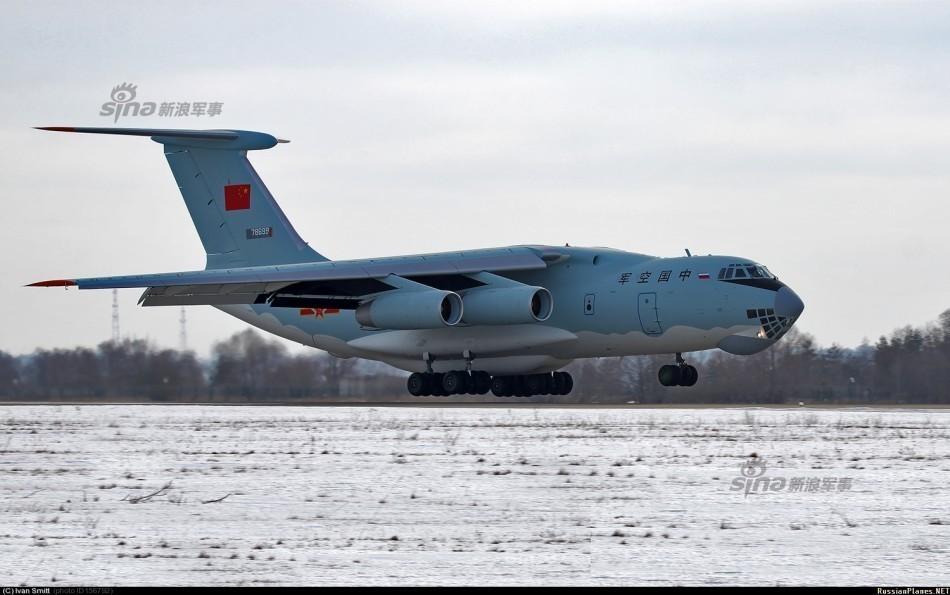 最新一架伊尔76飞机将入列中国空军