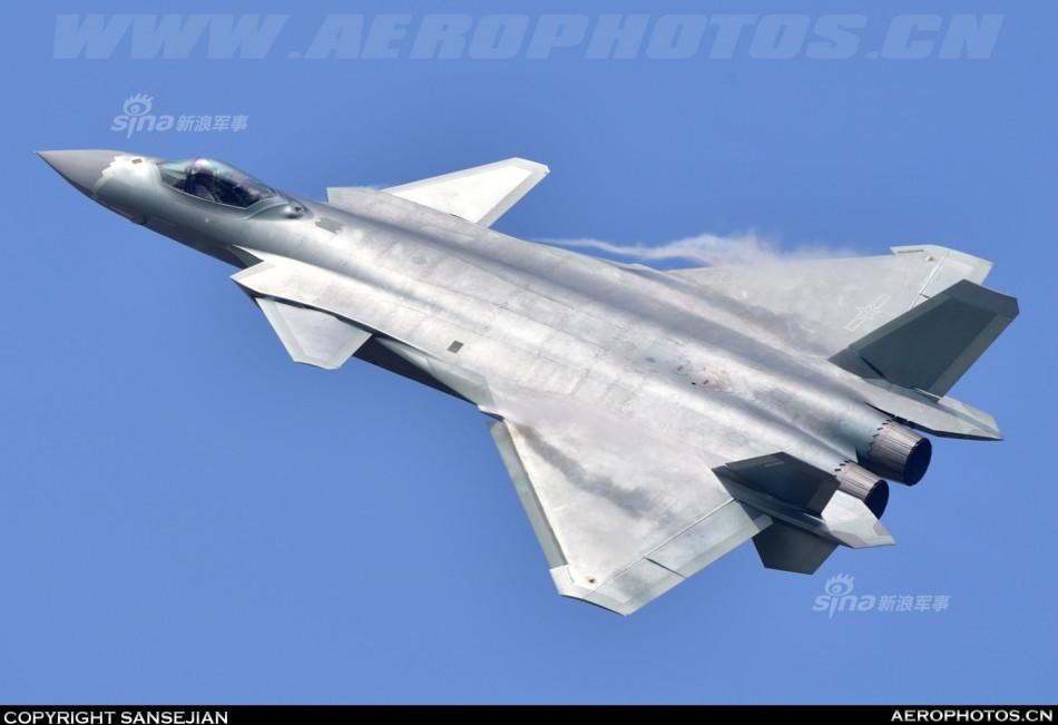 朦胧之美!再曝中国空军第二架歼20战斗机编号
