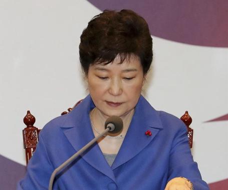 朴槿惠被韩国国会弹劾