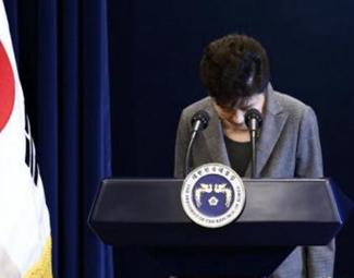 朴槿惠时代的终结