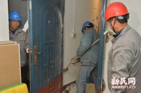 上海虹口查封一近千平米33户规模型地下租赁房