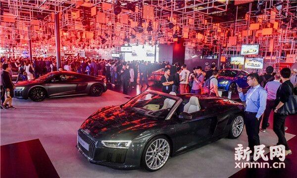上海车展开幕 全球首发车将达到113辆