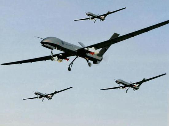 中国彩虹无人机进行整建制远程转场 创航空史上第一图片