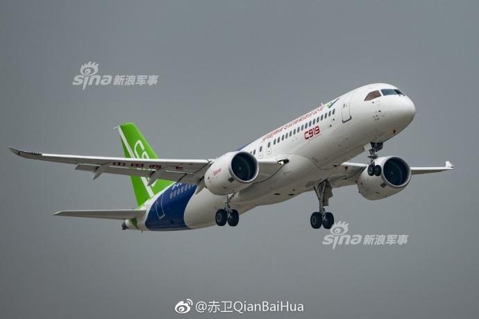 中国大飞机三剑客将齐聚蓝天:运20 ag600 c919