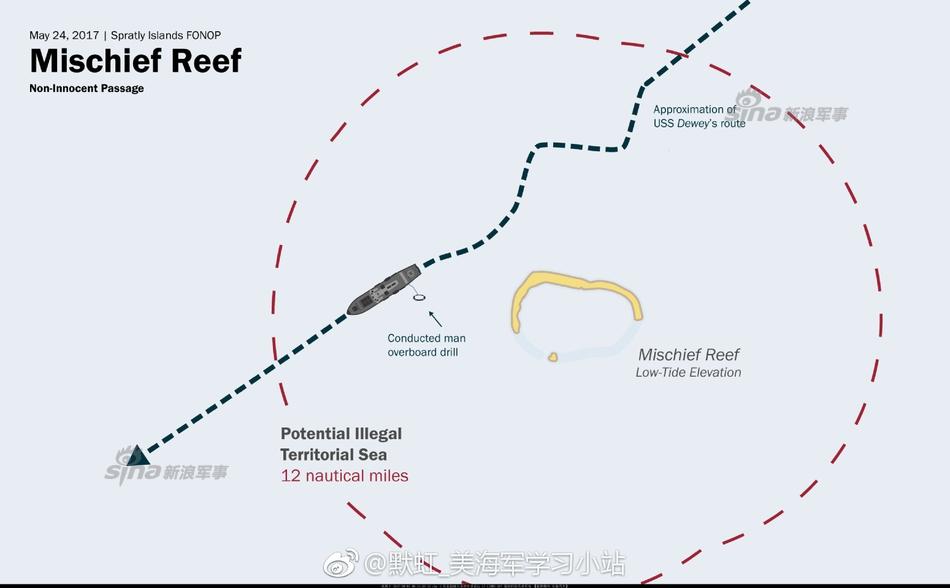 美国海军方面称,美国和日本船只和飞机正在南海搜寻一名失踪的美国