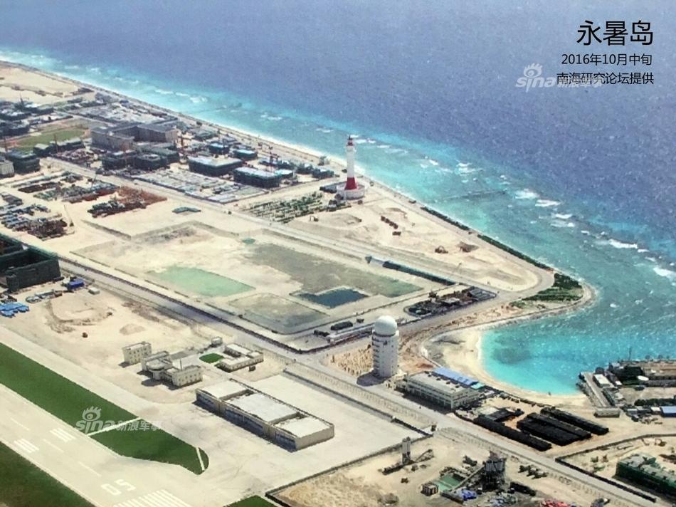 8平方公里,建有永暑岛机场,永暑医院等.