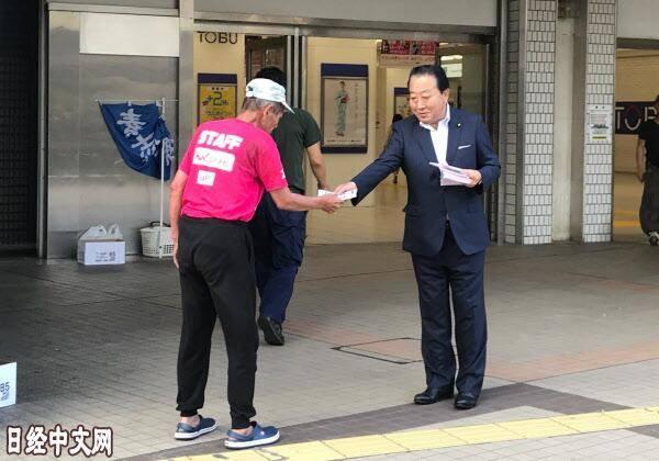 野田佳彦连续31年发传单:发传单更容易与别人交谈