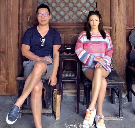 张雨绮与丈夫争执持刀上阵 事发上海豪宅内警方证实