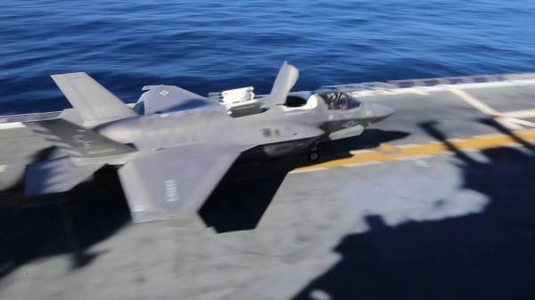 F-35首次坠毁