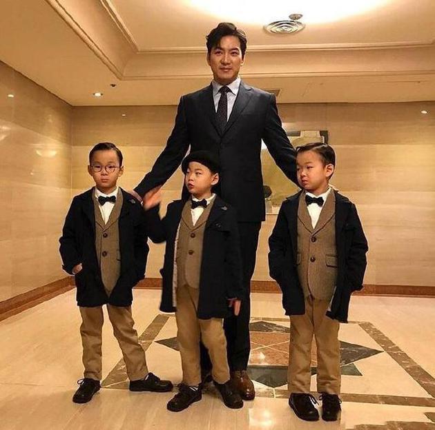 宋一国担心三胞胎儿子因大块头,在学校引起不必要的关注。