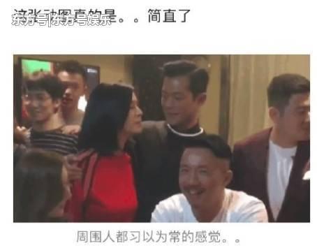 曝古天乐将结婚,女友是49岁的萱萱?