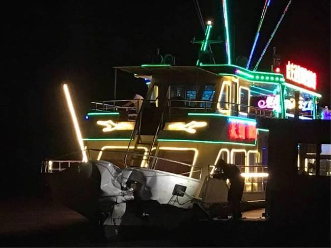 松花江客轮相撞51人受伤入院肇事运沙船逃离现场