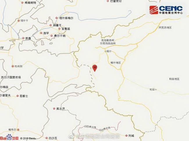 新疆阿克陶发生3.7级地震,遇到地震