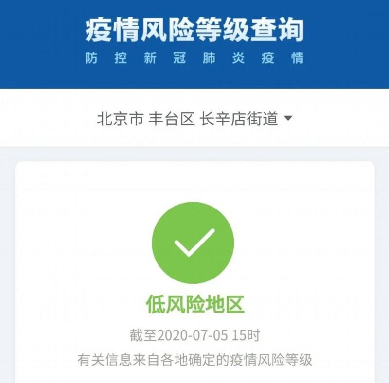 风险等级■北京高风险地区仅剩一个!