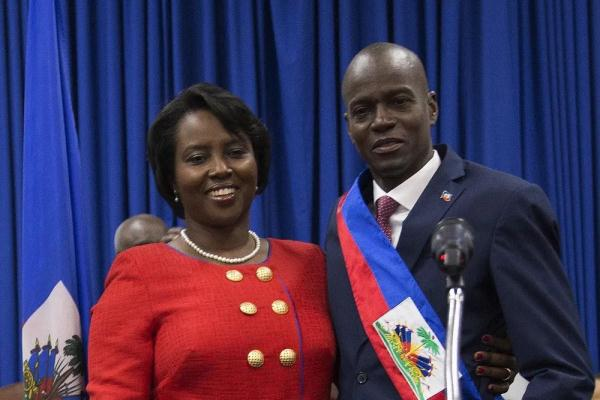 反转!❗️❗️海地第一夫人还活着,暗杀总统的嫌犯已被捕